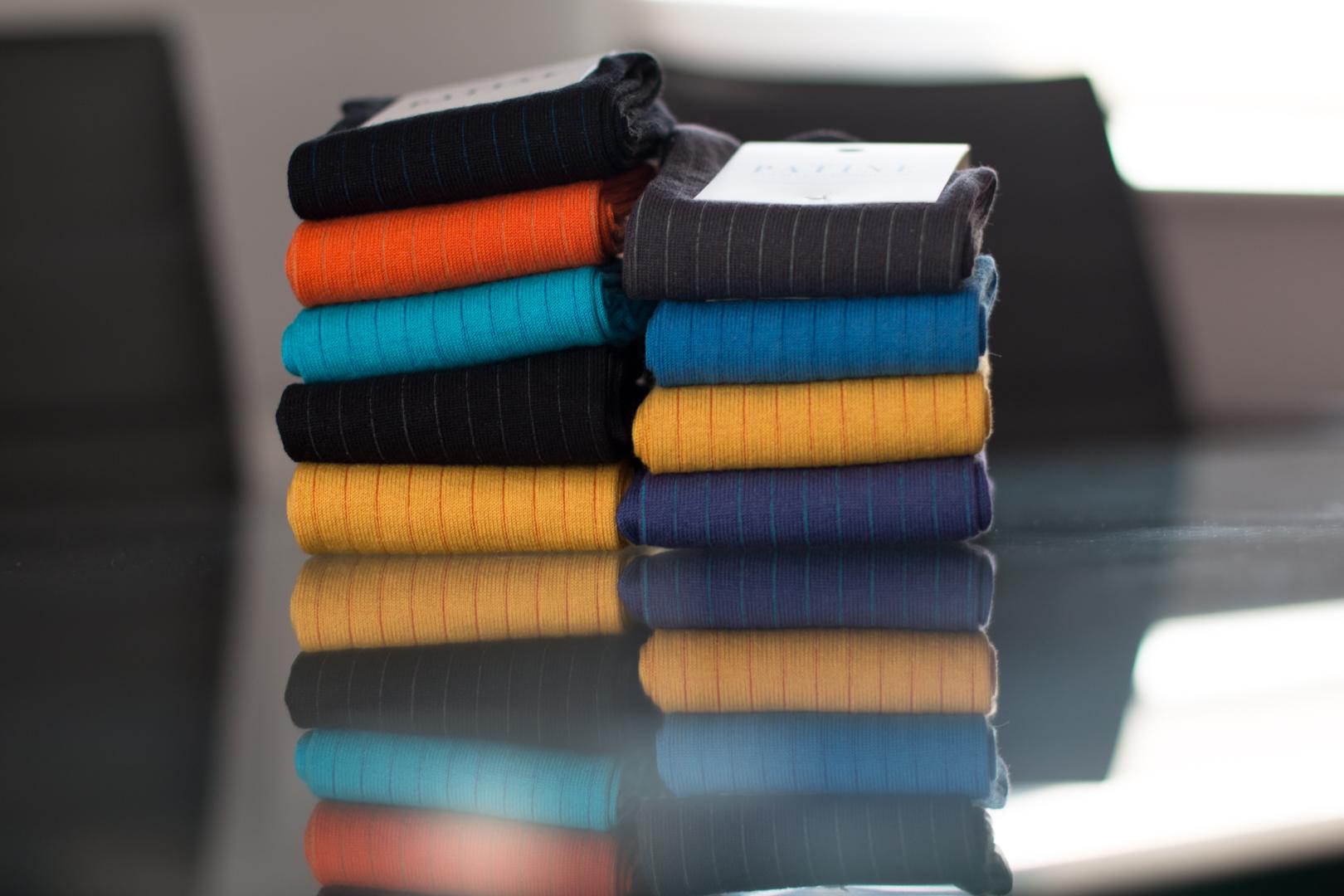 PATINE Socks - eleganckie męskie skarpety garniturowe