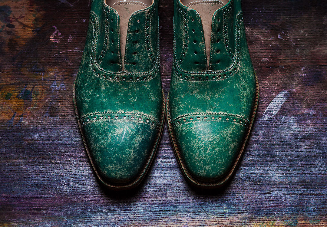 Greeen Luxury Shoes