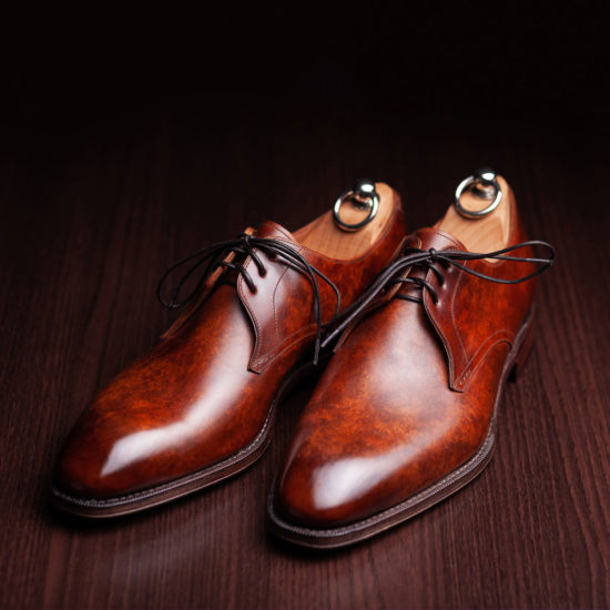 Derby Hand Painted Shoes