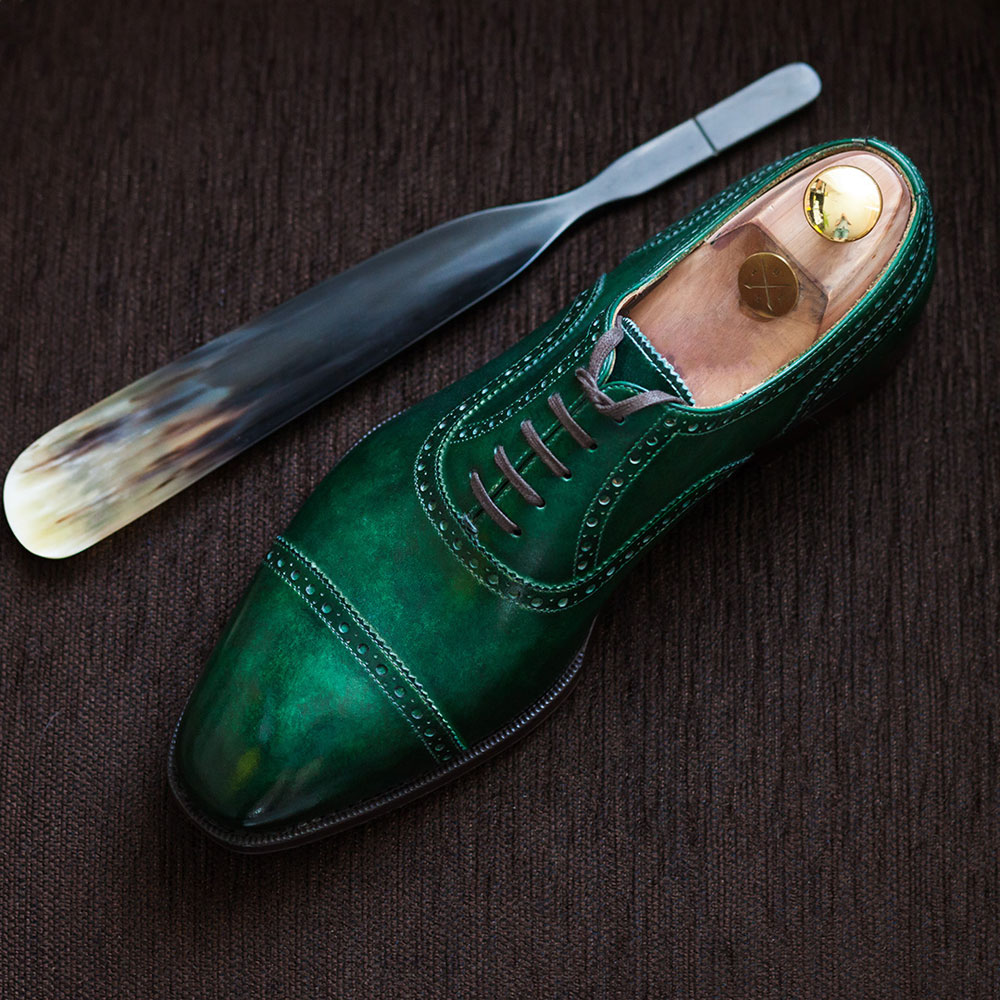 Greeen Shoes