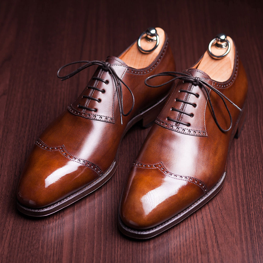 Hand Painted Shoes for Gentleman