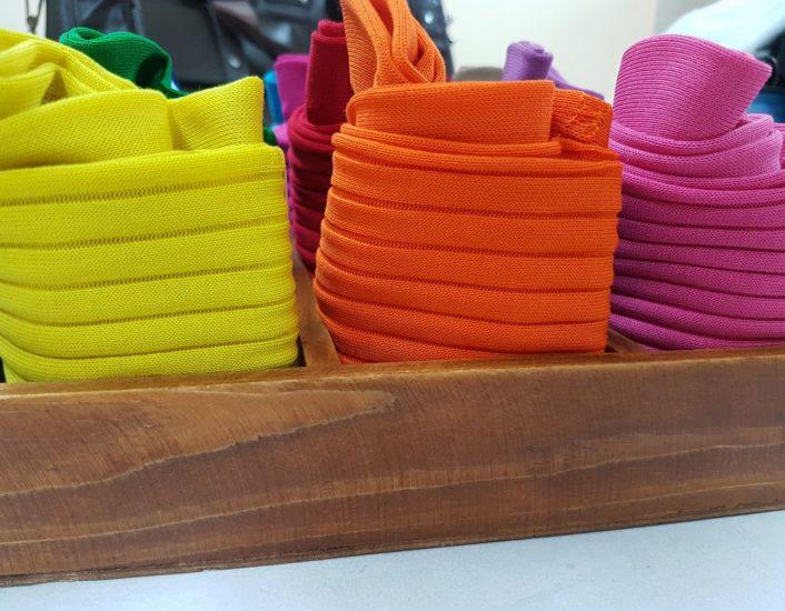 Kolorowe skarpety męskie.