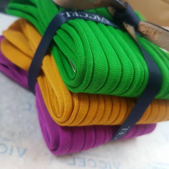 Pistacio, Golden, Lilac Socks