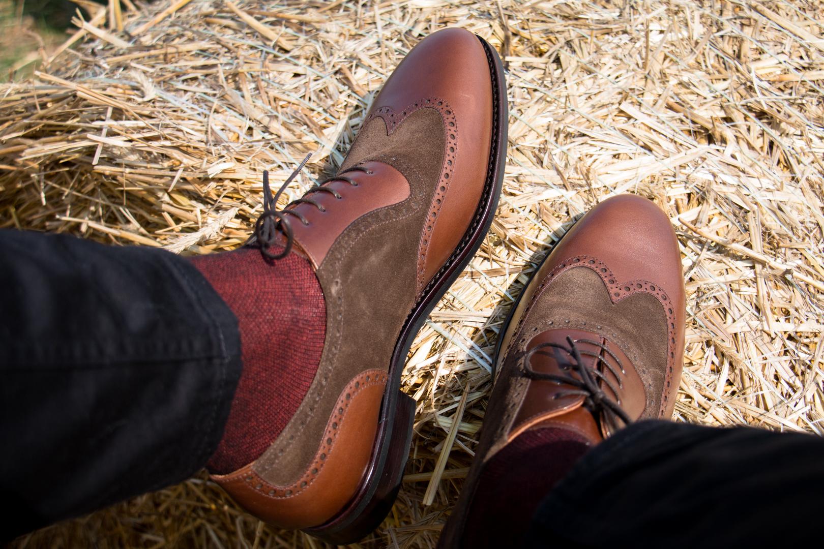 Klasyczne eleganckie buty męskie