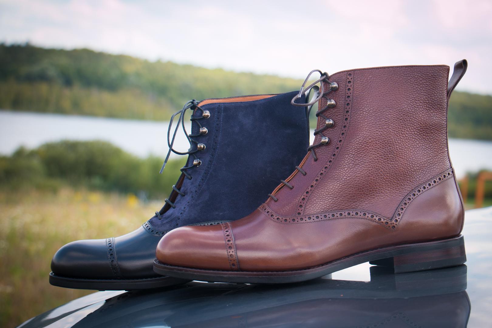 Eleganckie buty męskie na zimę