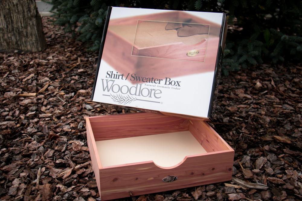 Cedar Sweater Box