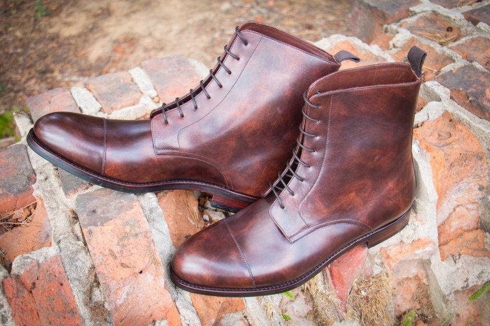 Museum Calf Boots Trzewiki