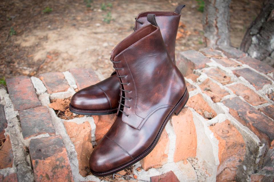Trzewiki męskie buty