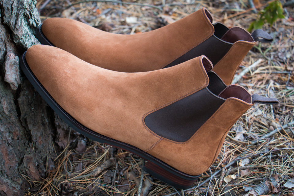 Chelsea Boots klasyczne sztyblety