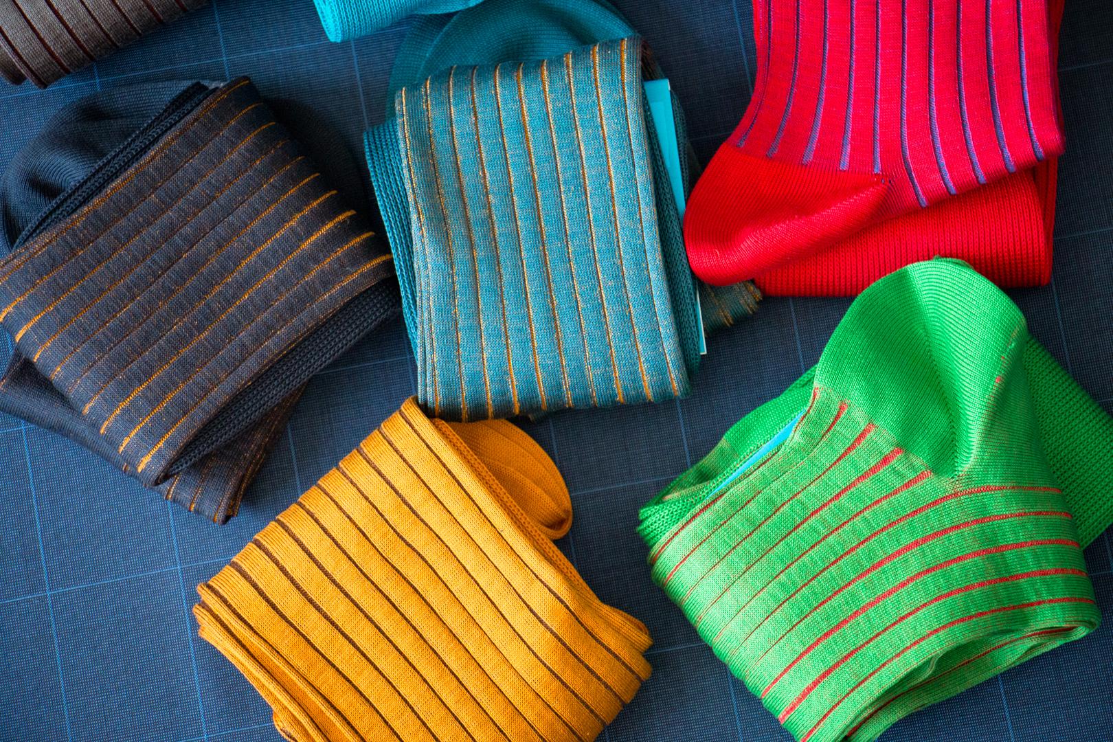 Shadow Luxury Socks and Knee Socks