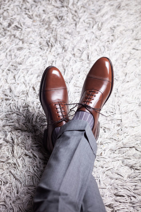 Dress Shoes and Socks