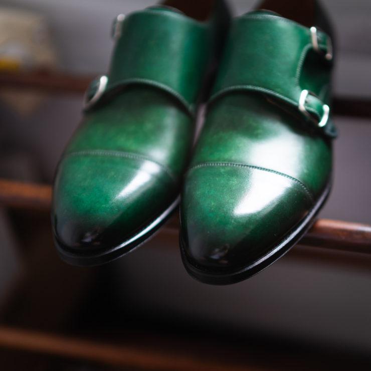 Ręcznie malowane buty