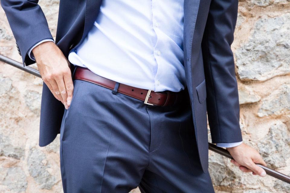 Męskie paski do spodni
