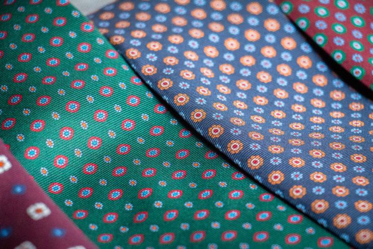 Krawaty z włoskiego jedwabiu