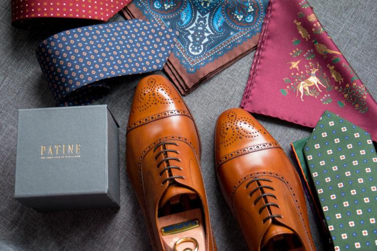 Wysokiej jakości krawaty i poszetki