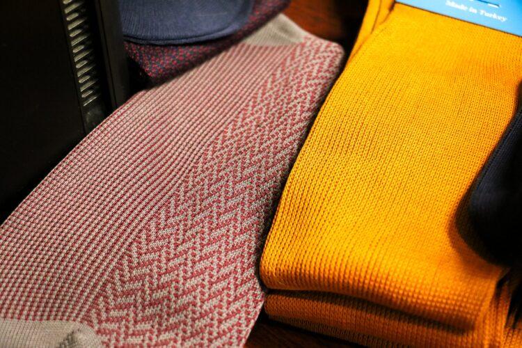 klasyczne męskie skarpety z egipskiej bawełny