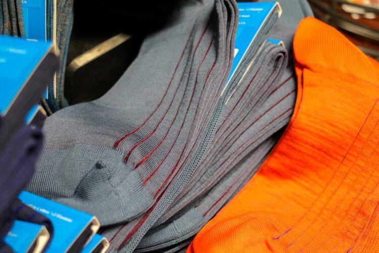 skarpety garniturowe z egipskiej bawełny dla gentlemana