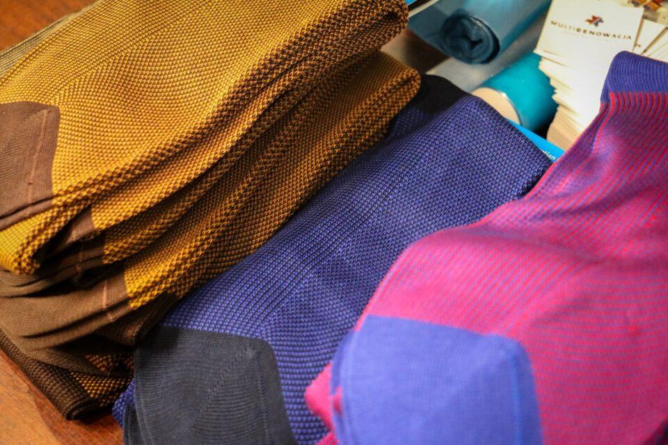 Fil d'Ecosse egipska bawełna skarpetki i podkolanówki dla gentlemana