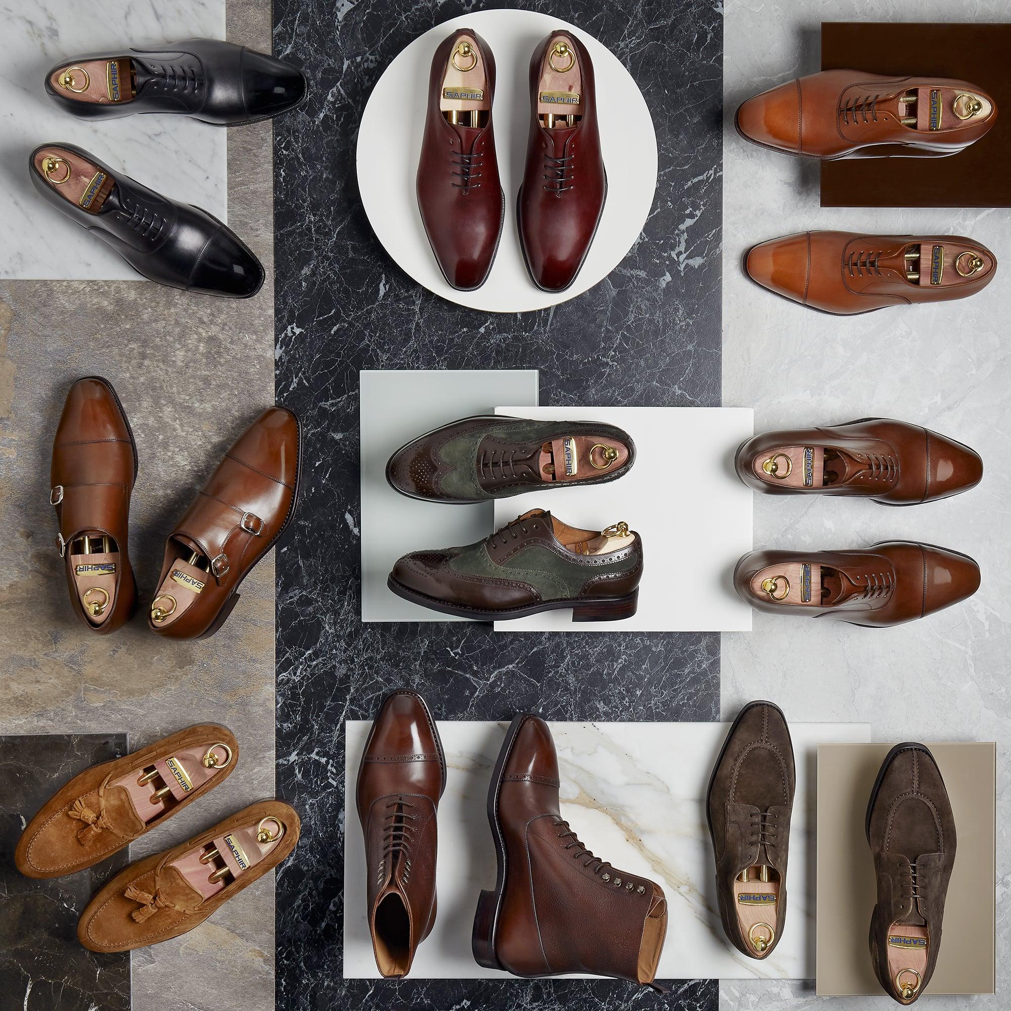 Garniturowe buty męskie na formalne i nieformalne okazje - eleganckie obuwie klasyczne.