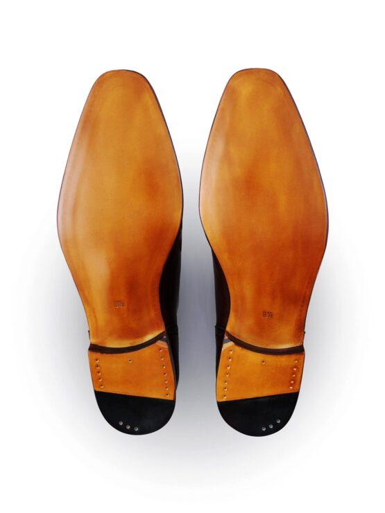 Eleganckie spody skórzane w obuwiu męskim