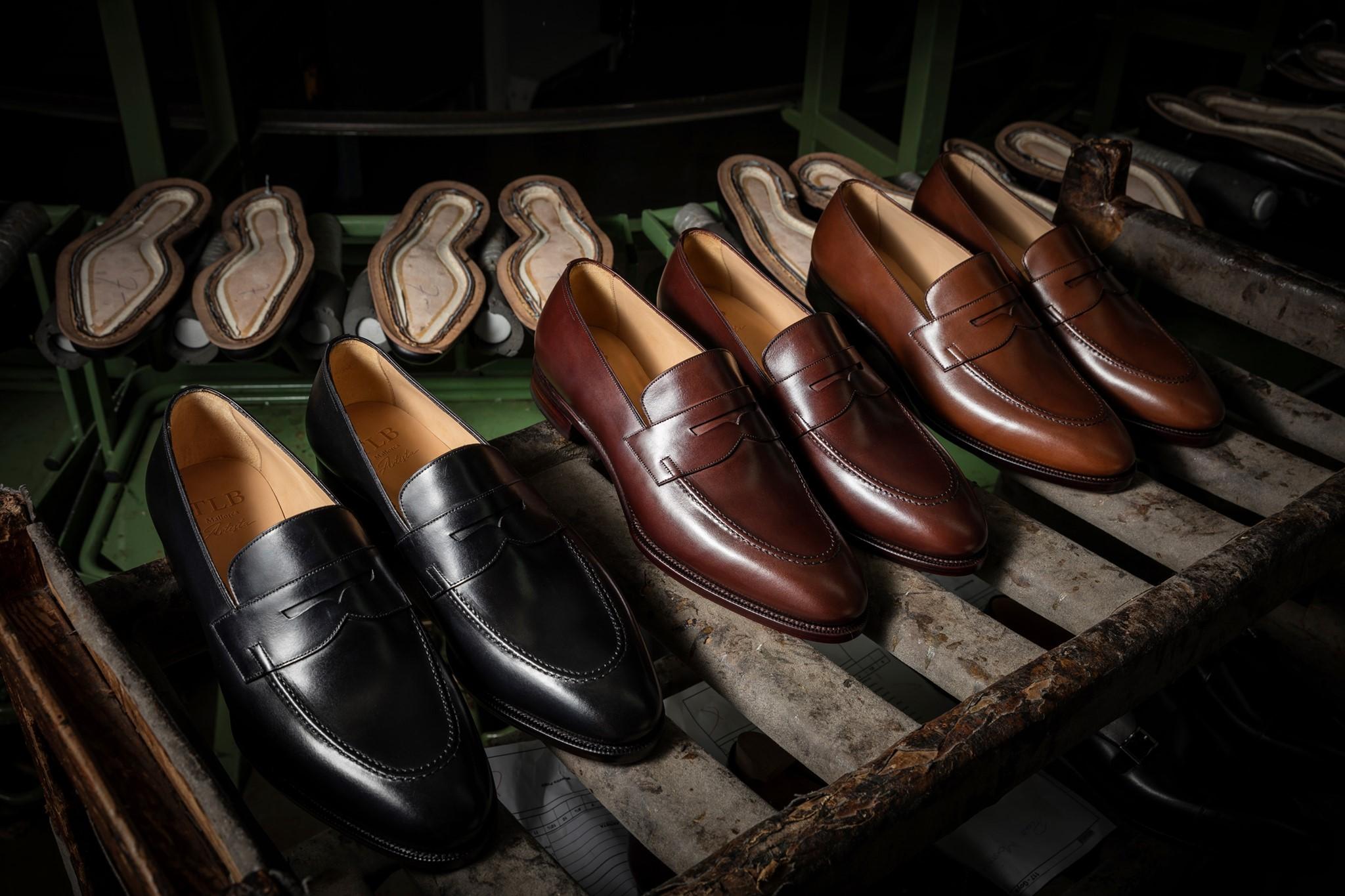 Buty mokasyny męskie luksusowe czarne i brązowe