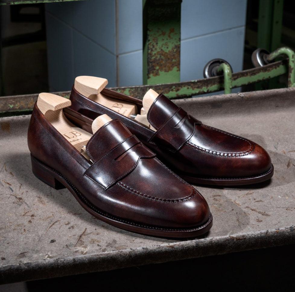 Męskie buty na lato penny loafers