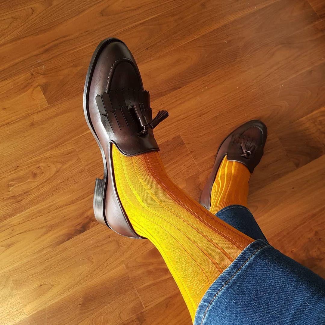 Skarpety do mokasynów, loafersów męskich