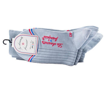 LCF Men Socks EIFFEL Gris Clair