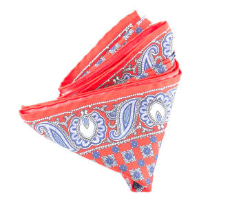 Pocket Square Twill PAT20714 Red