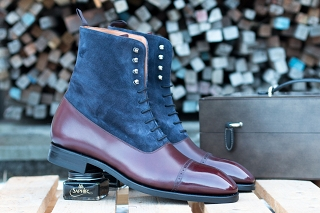 Yanko 755VH Burdeos/Softy Blue