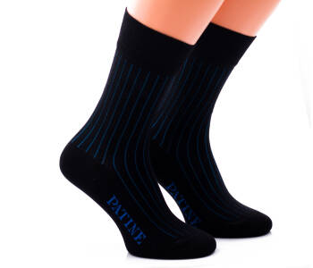 PATINE Socks PASH01 Black / Blue