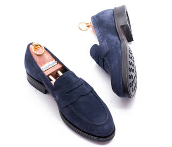 UNLINED Penny Loafers 033Y