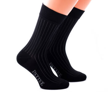 PATINE Socks PASH01 Black / Grey