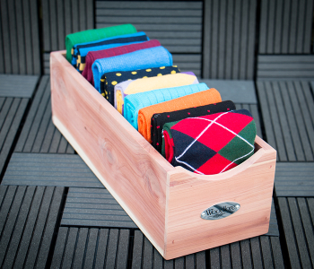 WOODLORE Cedar Socks Box