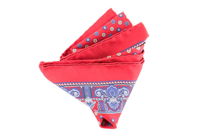 Pocket Square Twill PAT20715 Cardinal