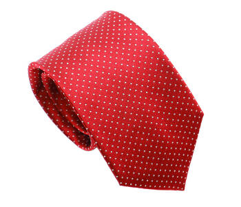 PATINE Tie 17 small POLKA-DOT Rouge