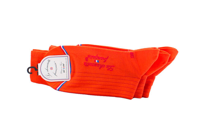 LCF Men Socks PIGALLE Orange
