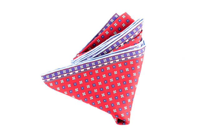 Pocket Square Twill PAT23564 Cardinal