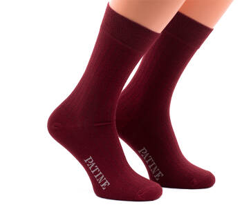 PATINE Socks PASH30 Bordeaux